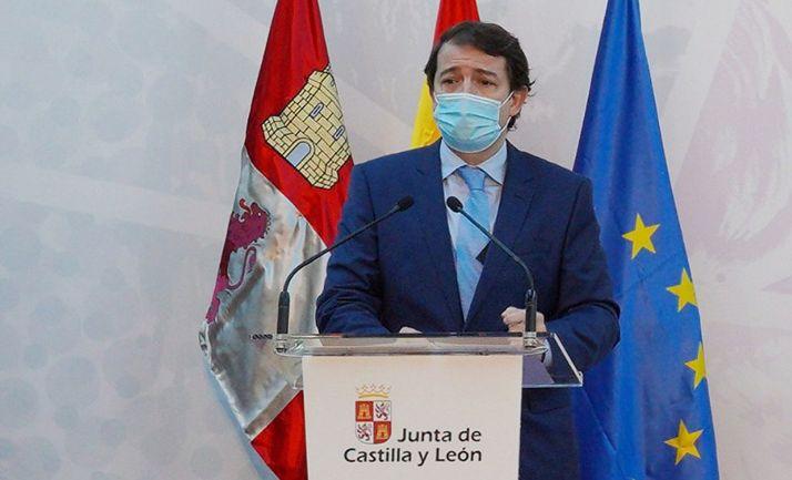 Alfonso Fernández Mañueco, presidente de la Junta de Castilla y León. /Jta.