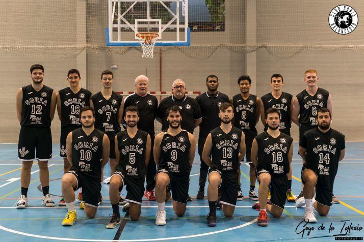 Plantilla del CSB Soria Ciudad del Deporte.
