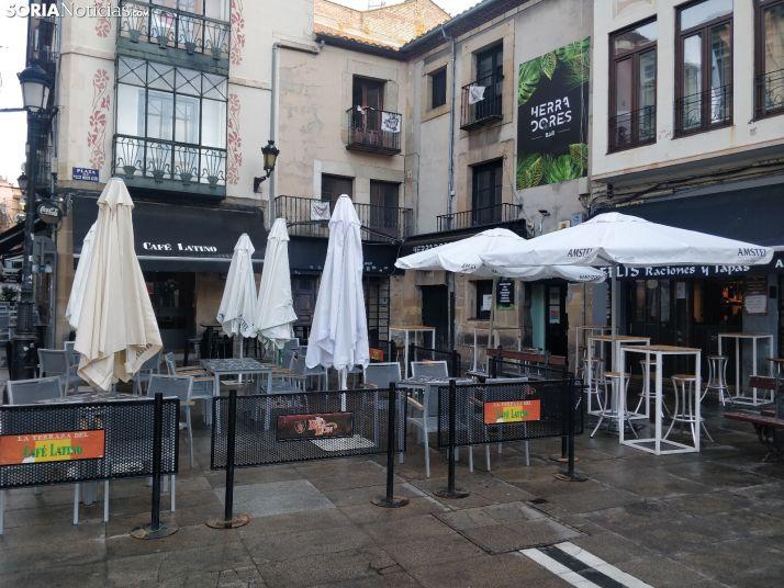 Foto 1 - Los bares y restaurantes de Soria podrán abrir el local al 33% del aforo desde el viernes 11