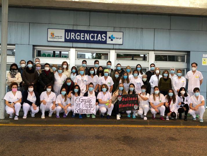 Foto 1 - Carta y video del Servicio de Urgencias del Hospital Santa Barbara a todos los sorianos por Navidad