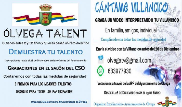 Foto 1 - Ólvega Talent y concurso de vídeo-villancicos en la localidad del Moncayo