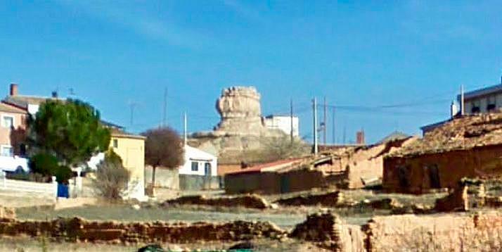 Una imagen de 'La Peñota', en el centro.