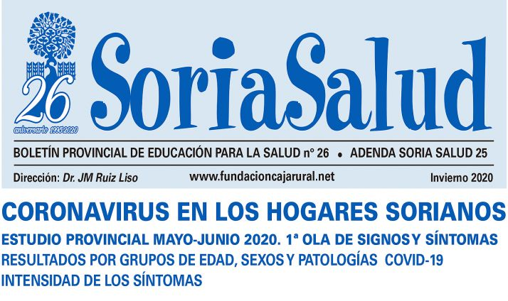 Portada del número 26 del Soria Salud
