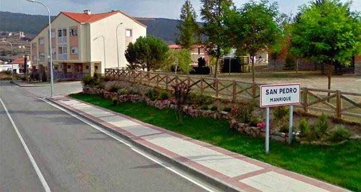 Entrada a San Pedro Manrique.