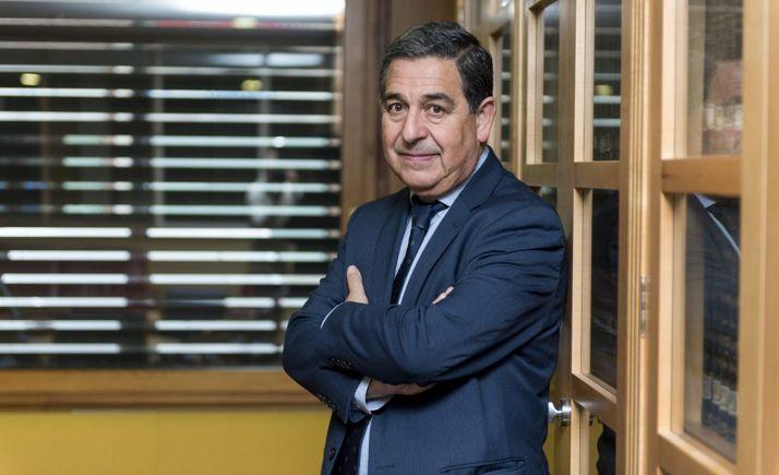 El presidente del CACYL, Julio Sanz Orejudo.