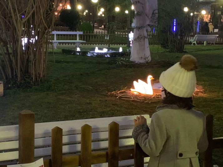 La Alameda de Cervantes se tiñe de tradición navideña