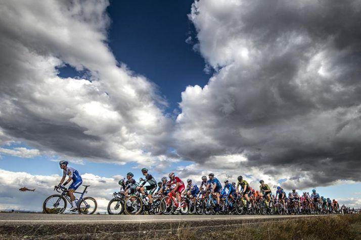 Foto de archivo de la Vuelta Ciclista a España.