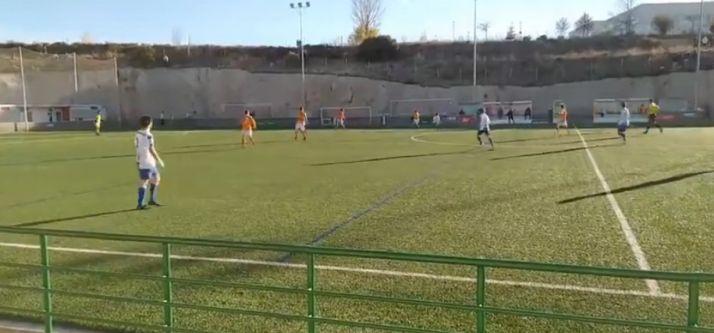 Foto 1 - Fútbol en directo: Calasanz-Abejar (Preferente regional)
