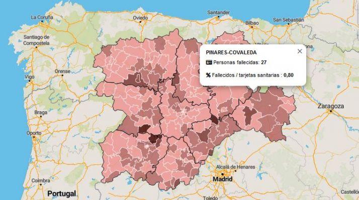 Coronavirus en Soria: ¿Cuántas personas han dado positivo por Covid y cuántas han fallecido en tu zona desde marzo?