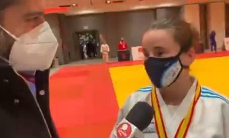 Foto 1 - Rocío García, oro en el Campeonato de España de Judo