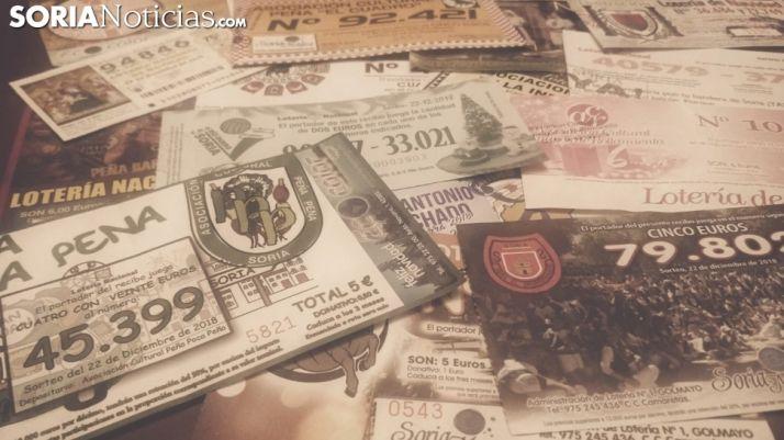 Lotería de Navidad soriana en una imagen de archivo.