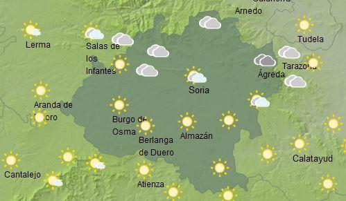Foto 1 - El tiempo en Soria hoy, 25 de diciembre