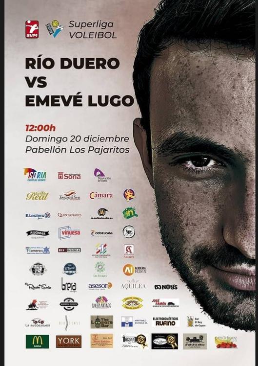 Foto 2 - Emevé Lugo evalúa la competitividad del Río Duero: los sorianos reciben este domingo, a las 12.00 horas, a un rival directo