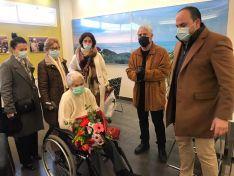 Foto 3 - El Burgo felicita a su nueva vecina centenaria; Carmen Del Pino Gil