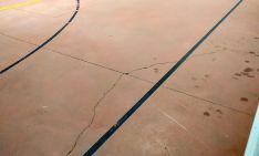 Una imagen de la pista donde juega el Laguna Negra. /CLNH
