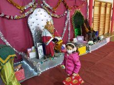 Una imagen de la visita de los Señores de Oriente a Arcos este 5 de enero.