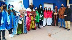Una imagen de la Noche de Reyes en El Burgo. /SN