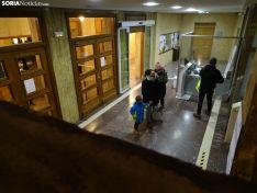 La visita de los Magos a la sede del Ayuntamiento. /SN