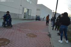 Una imagen de esta última jornada de cribados en el Campus. /SN