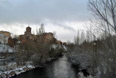 Almazán nevado, fotos de Cristina Ortega.