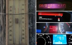 Soria: El día que los termómetros tiritaron de frío, hasta 20º bajo 0