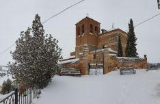 Nieve en Berzosa.