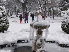 Paseo por la nevada Soria.
