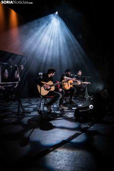 Concierto de Kutxi Romero en Soria. /Viksar Fotografía