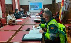 Reunión esta mañana del Comité de seguridad vial en la provincia. /SdG