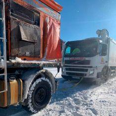Foto 3 - La Mancomunidad de Tierras Altas, a toda máquina en la limpieza de carreteras