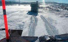 La Mancomunidad de Tierras Altas, a toda máquina en la limpieza de carreteras