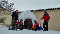 El iglú de las familias Martínez Lablanca y Martínez Brieva de Martialay. /M.Audiovisuales