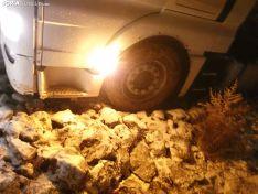 Salida de un camión en Noviercas. Soria Noticias