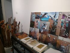 Bastonoes y trabajos de forja mostrados en la exposición celebrada en 2020