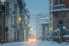 Filomena en Soria. /Viksar Fotografía