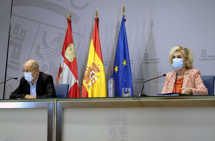 Foto 1 - Con la incidencia en 1.400, Castilla y León teme un nuevo estallido por la cepa británica
