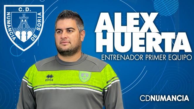 Foto 1 - El Numancia encarga a Alex Huerta la tarea de resucitar al primer equipo