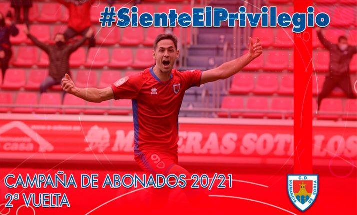 Foto 1 - El Numancia inicia nueva campaña de abonados  para la segunda vuelta liguera