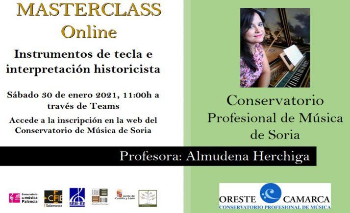 Foto 1 - Máster class de música antigua con la profesora Almudena Herchiga el sábado 30