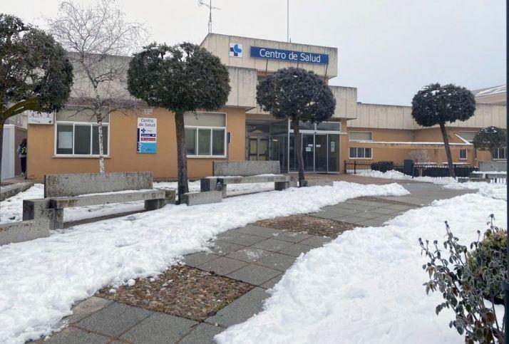 Accesos al centro de salud burgense. /Jta.