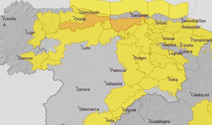 Foto 1 - El tiempo hoy: Soria comienza el año con dos alertas por nieve