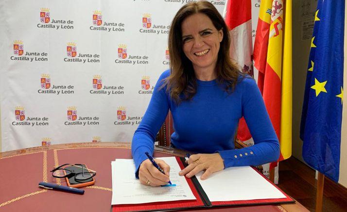 La consejera de Empleo e Industria, Ana Carlota Amigo. /ACM