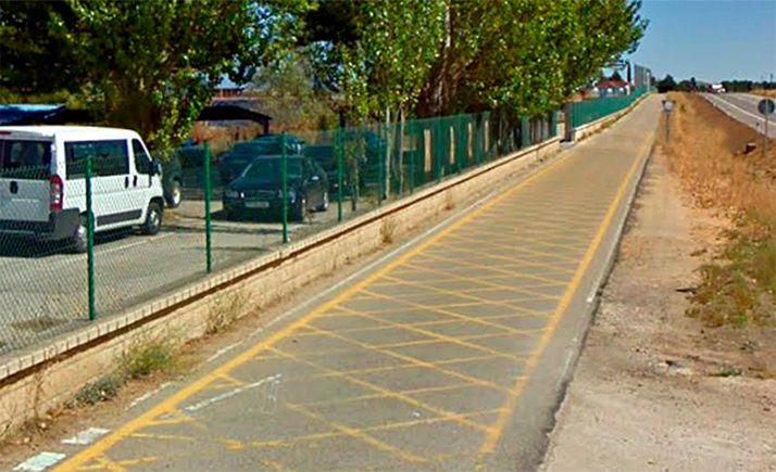 Imagen del trazado en las inmediaciones de Tableros Losán. /GM