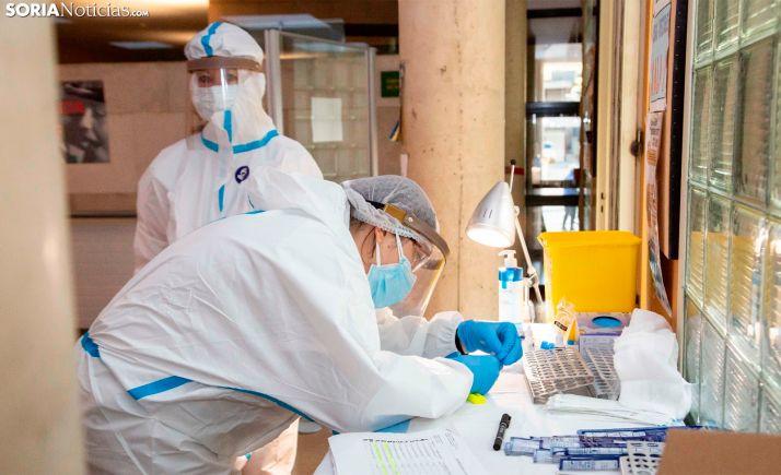 Foto 1 - Coronavirus en Soria: Los contagios por el brote de Almazán suman 57