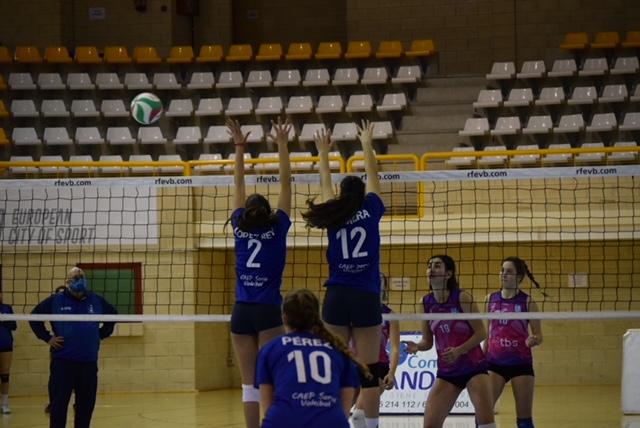 Foto 1 - CAEP Soria inicia el año con victoria ante el Vall D'Hebron (3-0)