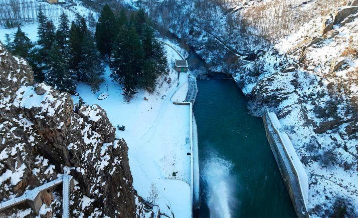 Foto 1 - La CHD vigila los cauces de los ríos ante la previsión de un fuerte deshielo