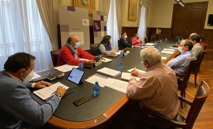 Comisión de Agricultura de la Diputación Provincial.