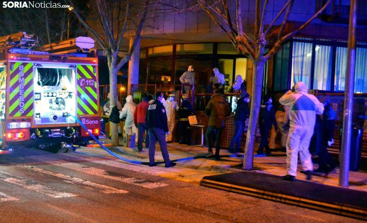 Varios ancianos trasladados al hospital tras declararse un fuego en una residencia