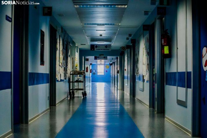 Interior del Hospital Santa Bárbara.