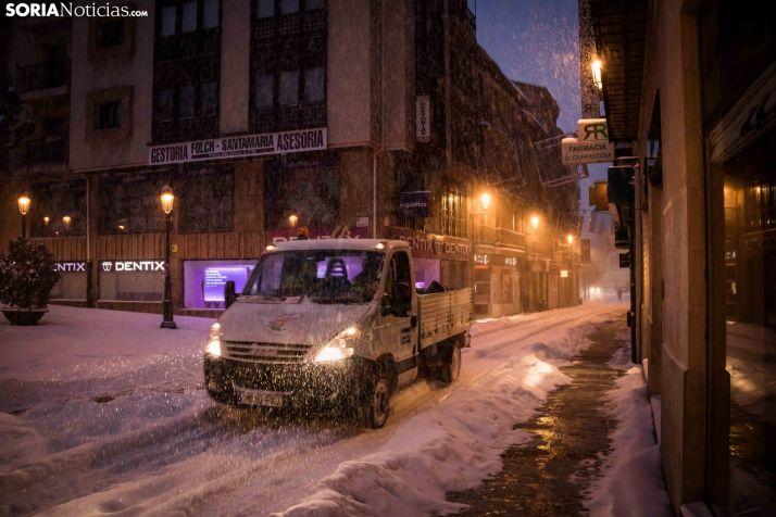 Soria aprovechará que la nevada pasa por Madrid